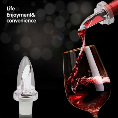 Eco-Friendly Wine Stopper Conducting Wine Aerator Pourer Kitchen Accessories HS