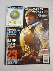 Official XBOX Magazine -Nov 08- GEARS OF WAR 2- BROTHERS IN ARMS-  Issue #89
