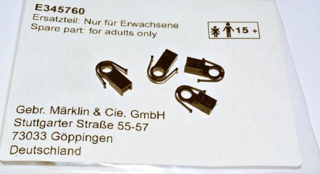 2 Stück NEU Märklin H0 E345760 Kupplungsschacht schwarz
