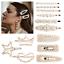 Manual-Women-Pearl-Hair-Clip-Snap-Barrette-Stick-Hairpin-Hair-Accessories-Gift thumbnail 1