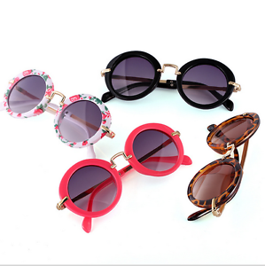 New-Hot-Goggles-Metal-Glasses-Kids-Girls-Boys-Anti-UV-Wild-Fashion-Sunglasses