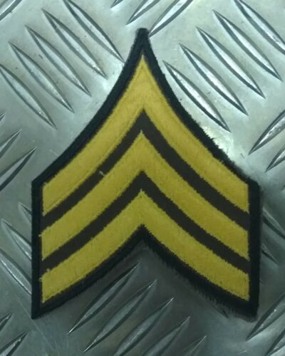 3 chevron NEW APOR28 Genuine Vintage US Miltary ARMY USA Sergeant Stripes