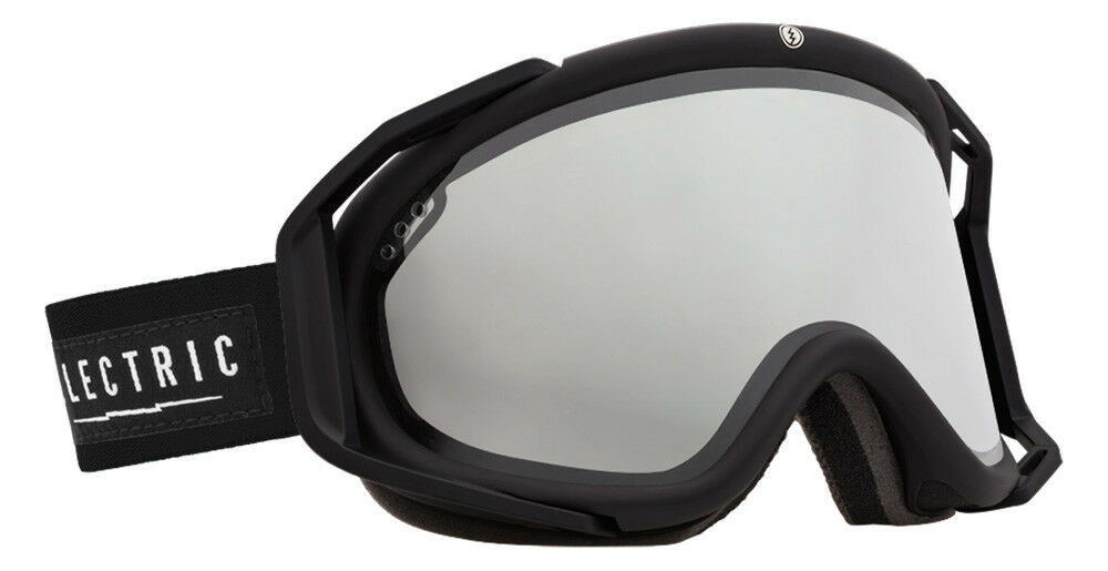 ELECTRIC Rig Goggles w Mirrored Cylindrical Lenses + Bonus Lens Included