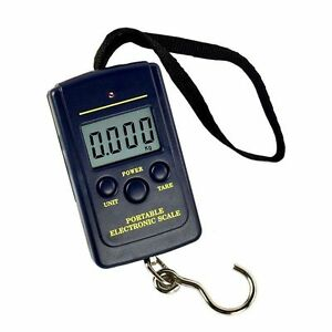 40kg-10g-Electronic-Hanging-Fishing-Luggage-Pocket-Digital-Weight-Scale-Blue-SU