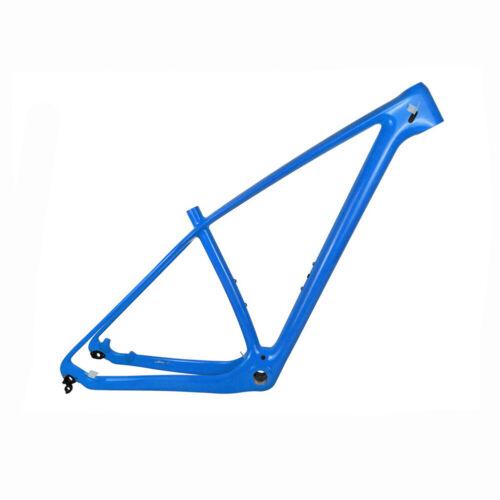 Full Carbon Mountain Bike Frame 29er 27.5er Glossy Carbon MTB Bicycle Frames BSA