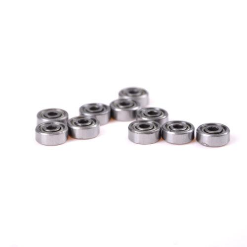 10pcs//set 623ZZ 3mmx10mmx4mm 623Z Radial Ball Bearings 3D Printer For RepRap MEU