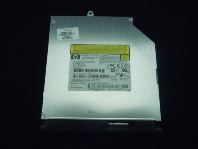 USB 2.0 External CD//DVD Drive for Compaq presario cq70-120eo