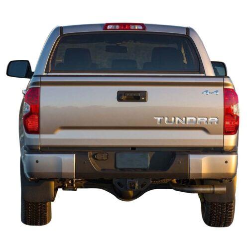 B2G1 Free 2014-2019 Toyota TUNDRA Tailgate Vinyl Letters Chrome Inserts Stickers