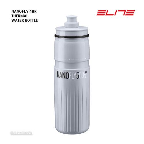 Gris Elite NANOFLY Thermique Léger Isolé Bouteille D/'eau bisphenol A 500 ml Libre