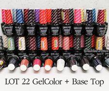 LOT 22 OPI GelColor + BASE TOP Coat Set Soak Off Gel Polish UV LED KIT ✽Ship 24H