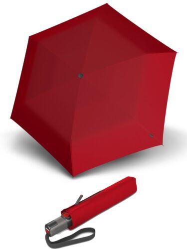Knirps TS.200 Slim Medium Duomatic Regenschirm Accessoire Red Rot Neu