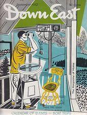 Down East Maine Magazine 1962 September Rockport/Georgetown/Raymond/Gull Train
