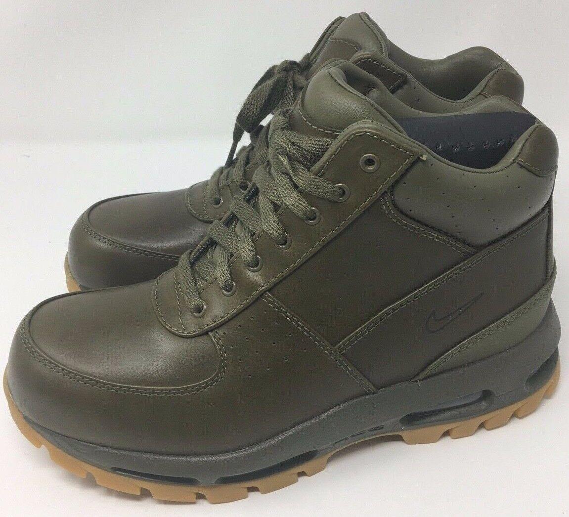 New Nike Air Max Goadome Men's Boot  Olive 865031-209 Size 8