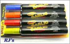 New Spike-It Dip-N-Glo Soft Plastic Lure Dye Cht Crawlic Scent 5101