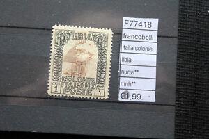 FRANCOBOLLI-ITALIA-COLONIE-LIBIA-NUOVI-MNH-F77418