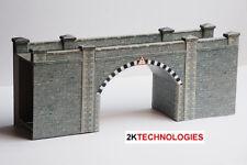 Superquick A16 Stone Brick Tunnel, Portals or Bridge Die Cut Card Kit 00 Gauge