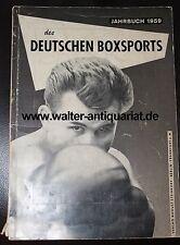 Jahrbuch 1959 des Deutschen Boxsports Boxen Amateurboxen Profiboxen