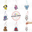 miniature 1 - BT21 Character Oh Scent Icon Perfume Tag 7types Official K-POP Authentic Goods