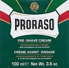 Proraso Pre-shave Cream Refreshing and Toning 3.6 Oz