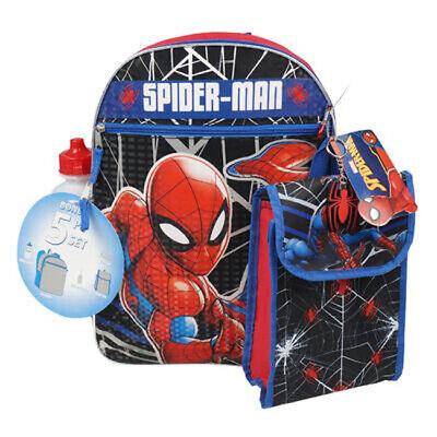 NWT Disney Store Spider-Man Backpack Boy School Marvel