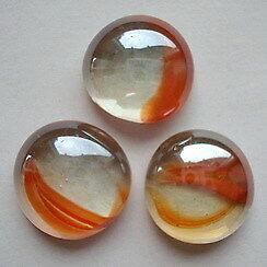 rot Glasnuggets 100 g marmoriert