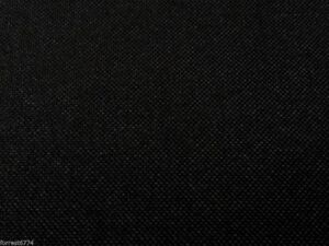 WATERPROOF BLACK CANVAS FABRIC 1000D GOOD SECONDS