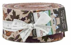 Moda-Country-Charm-Jelly-Roll-2-5-034-Fabric-Quilting-Strips-6790JR-J12