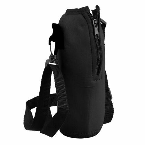Nylon Adjustable Detachable Outdoor System Water Bottle Bag Kettle Pouch Holder