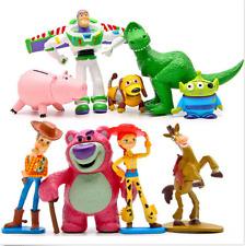 9 PCS Toy Story 3 Buzz Lighter Woody Jessie Dinosaur Lotso Action Figure Toys