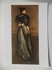 James  Whistler Mother of Pearl & Silver Andalusian 1900 6x4 Inch Postcard New