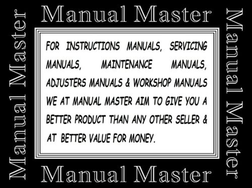 No Machine* B755 Industrial Sewing Machine Owner manual Booklet Brother DB2
