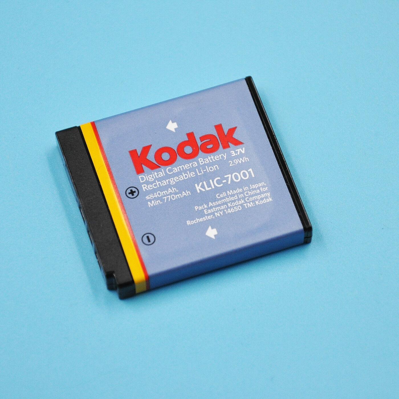 7001 KLIC batería 7001 7001 KLIC Bateria para kodak KLIC
