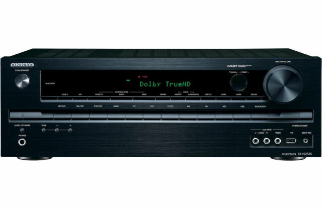 Onkyo TX NR535 5.2 Channel 330 Watt Bluetooth Receiver