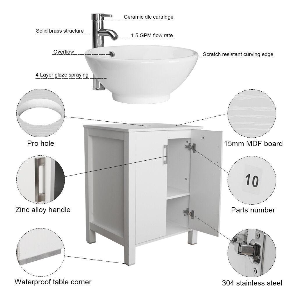 Signature Hardware 60 Venica Teak Vessel Sink Vanity With Makeup Area Whitewash For Sale Online Ebay