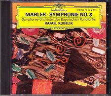 Rafael KUBELIK: MAHLER Symphony No.8 Fischer-Dieskau Mathis Arroyo Crass DG 1986