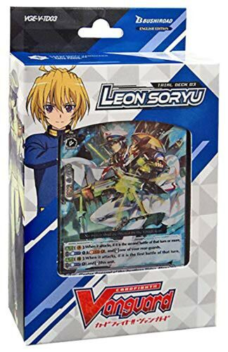 Cardfight Vanguard VGE-V-TD03 V-Trial Deck Leon Soryu English Edition