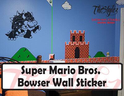 Super Mario Bros Sticker Mario Endgame Pole