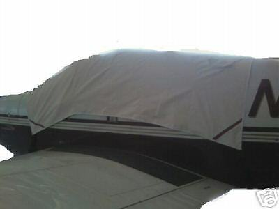 112, 114 Windshield Cover Rockwell Commander