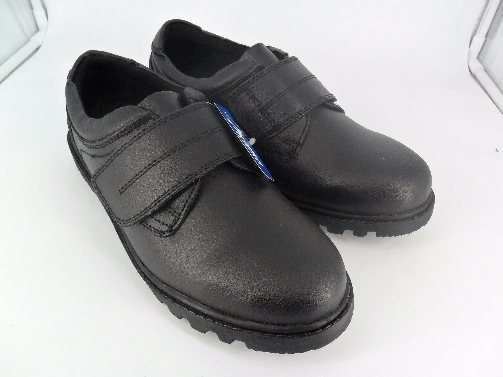 Chums Leather Touch Fastening Walking shoes Black UK 8 EU 42 JS092 RR 04