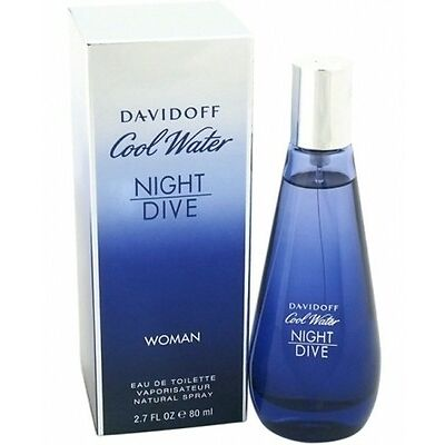 Davidoff Cool water Night dive 80 ml for women perfume