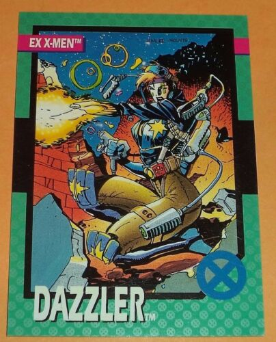 Dazzler # 85-1992 Marvel X-men Series 1 Base  Impel Trading Card