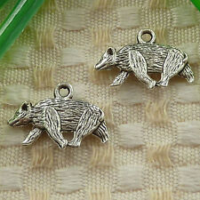 free ship 58 pieces Antique silver tree charms 22x17mm #3608