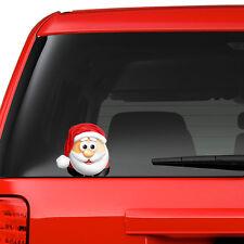 Santa on Board Funny Novelty Car Bumper Window Sticker Christmas Decal Colour