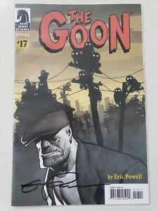 THE-GOON-17-2006-DARK-HORSE-COMICS-AUTOGRAPHED-by-ERIC-POWELL-with-COA