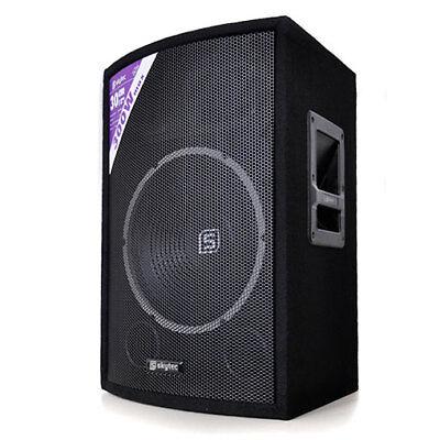 "ALTAVOZ SKYTEC PA 30CM (12"") 600W BAFLE DJ SUBWOOFER MONITOR 600W -B-Stock"
