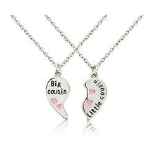 Big Cousin and Little Cousin Necklace - with beautiful gift bags