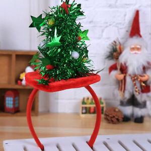 Accessori Natale.Cerchietti Fascia Natalizia Accessori Stella Decorazione Festa Di Natale Ebay