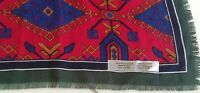 Women's Native Design Scarf, Multi Color, 100% Polyester, Made In Italy,