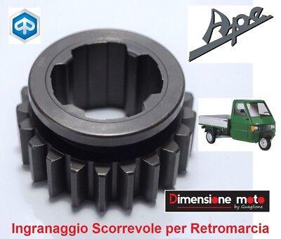 0080 - Ingranaggio Scorrevole Retromarcia Per Piaggio Ape Tm P703v Fl2 Dal 1999 Pulizia Della Cavità Orale.