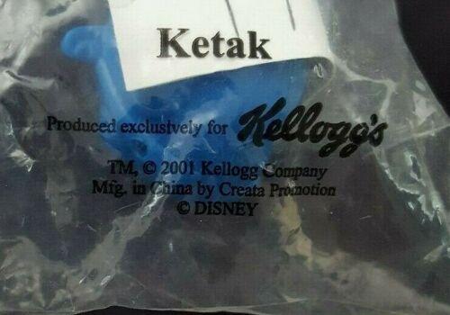 2001 Disney Kellogg/'s Atlantis Action Diver Ketak Diving Sub NEW Factory Sealed